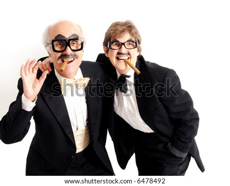 Comedians - stock photo