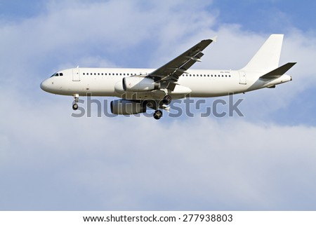 Commercial Aircraft - stock photo