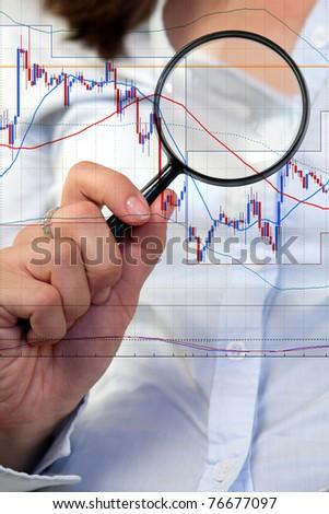 Commodity trading - stock photo
