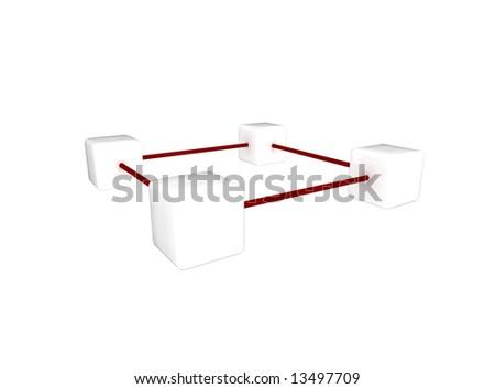 communication platform - stock photo