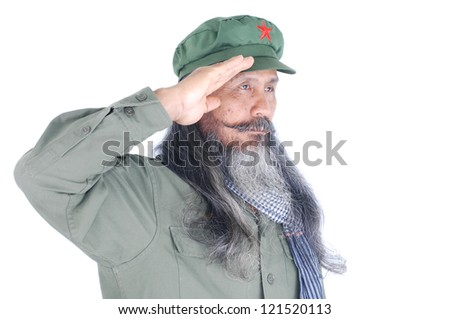 Communist Soldier - stock photo
