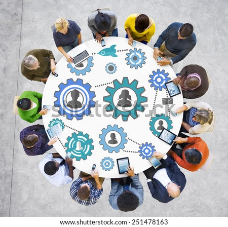 Community Business Team Partnership Collaboration Support Concept - stock photo