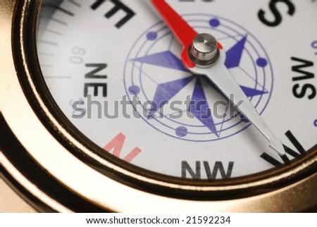 Compass - stock photo
