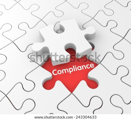 Compliance - stock photo
