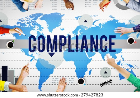 Compliance Agreement Acceptance Strategy Business Concept - stock photo
