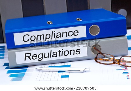 Compliance and Regulations - stock photo