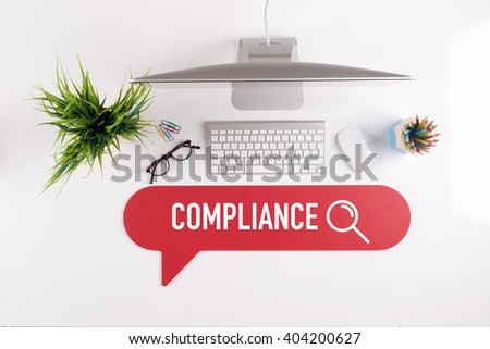 COMPLIANCE Search Find Web Online Technology Internet Website Concept - stock photo