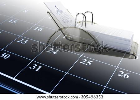 Composite of Calendars   - stock photo