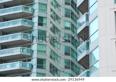 Composition of the condo patterns - stock photo