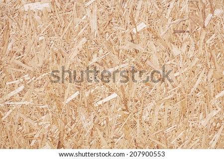 Compressed light brown wooden texture - stock photo