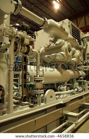 Compressor - stock photo