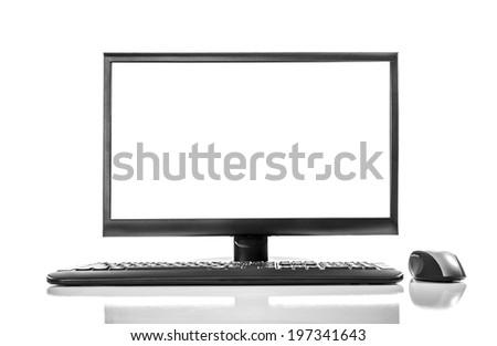 Computer - stock photo