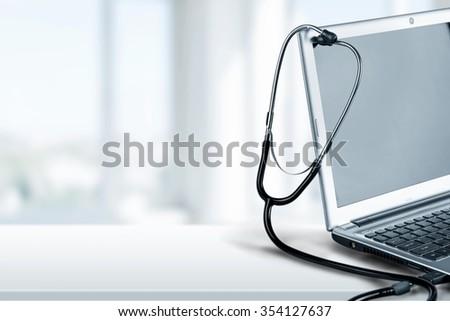 Computer. - stock photo