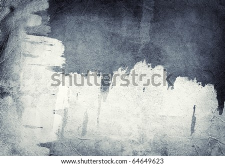 Computer designed highly detailed grunge abstract textured paper background - collage - stock photo