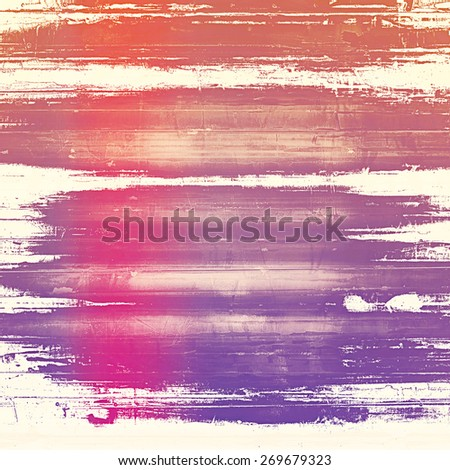 Computer designed highly detailed vintage texture or background. With different color patterns: purple (violet); red (orange); pink - stock photo