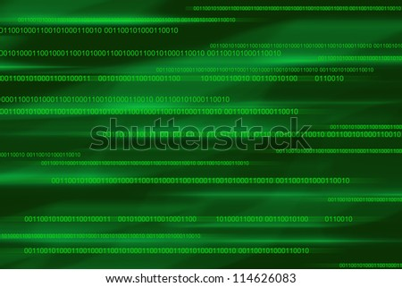 Computer download background linux code Zero one - stock photo