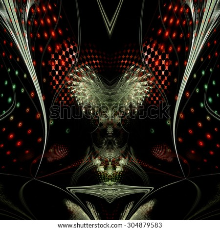 Computer generated fractal artwork for design, art and entertainment - stock photo