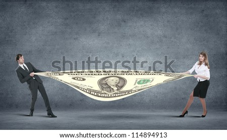 computer generated image - corporate income and financila issues - stock photo