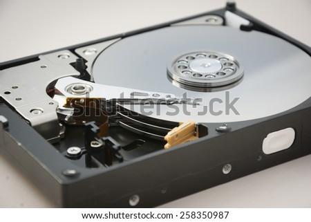 Computer hardware: Hard Disk drive - stock photo