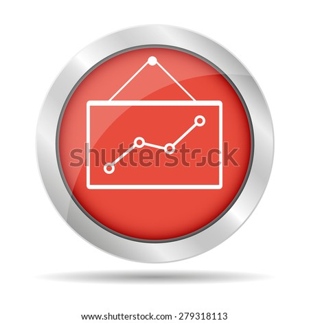 Computer monitors with different graphs, illustration - stock photo
