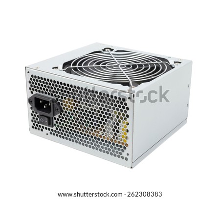 Computer Power Supply Unit - stock photo