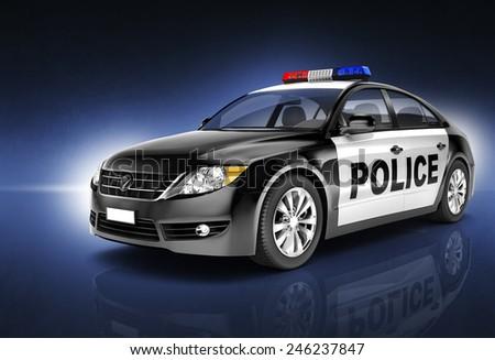 Comtemporary Car Elegance Vehicle Transportation Luxury Performance Concept - stock photo