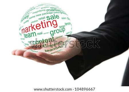Concepr of marketing - stock photo