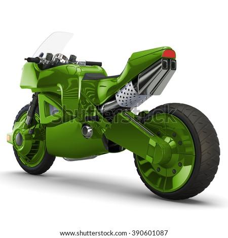 concept bike sport - stock photo