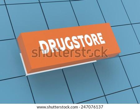 Concept DRUGSTORE - stock photo