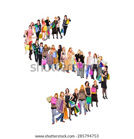 Concept Image Together we Stand  - stock photo