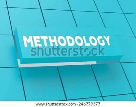 Concept METHODOLOGY - stock photo