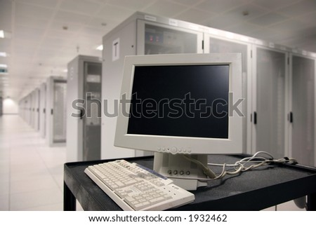 Concept of Computer Hardware Configuration - stock photo