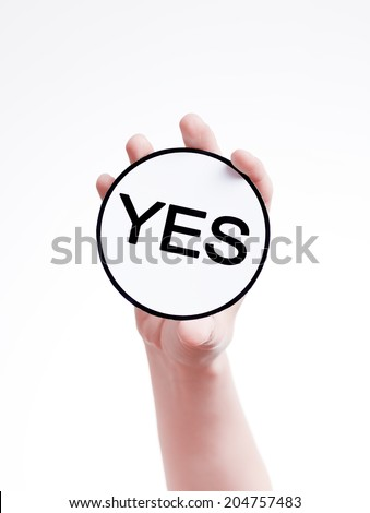 Concept of decision making. - stock photo