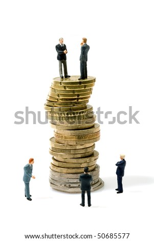 concept of tradition money business - stock photo