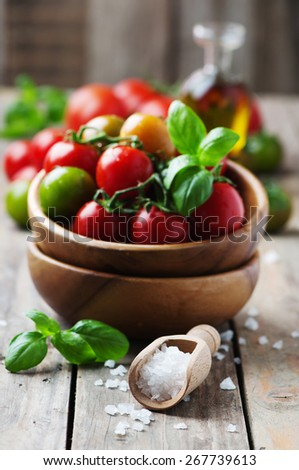 Concept of vegan food, selective focus - stock photo