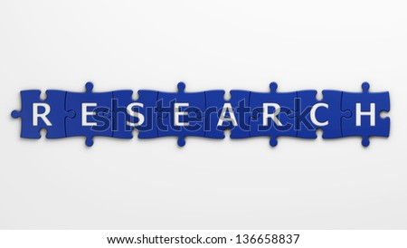 concept research - stock photo