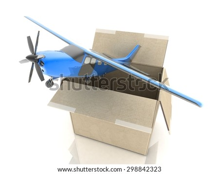 Concept. Shipping. Transport. - stock photo