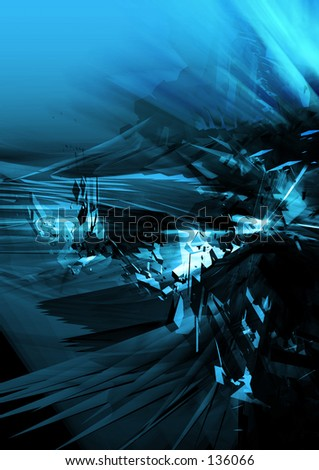 Conceptual Abstract Illustration 15 - stock photo