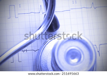 Conceptual photo shows the critical need in the treatment of cardiac disease - stock photo