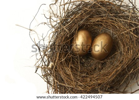 Conceptual theme on banking for retirement. - stock photo