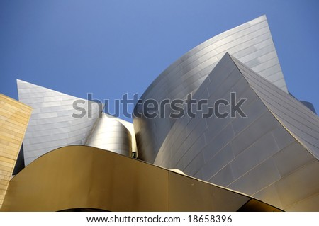 concert hall in Los Angeles - stock photo