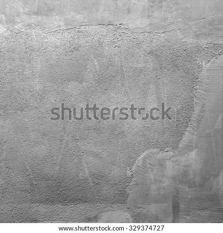 Concrete aged wall - stock photo