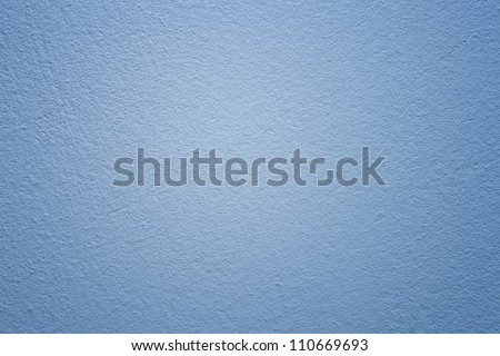 Concrete blue wall background. - stock photo