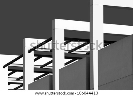 concrete cubes - stock photo
