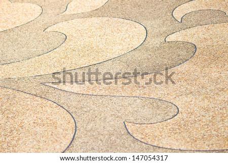 Concrete floor beautiful texture background. - stock photo