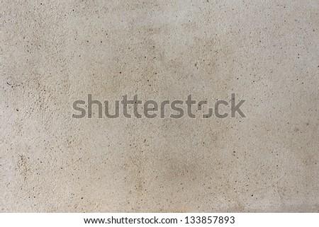 Concrete paved path texture along the beach - stock photo