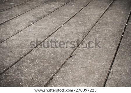 Concrete slab - stock photo