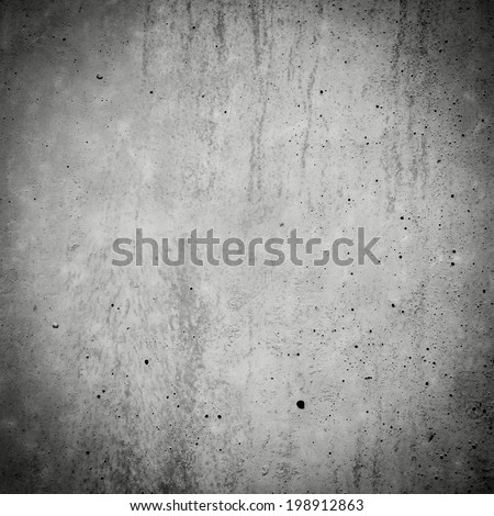 concrete wall background texture - square crop - stock photo