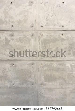 Concrete wall pattern - stock photo