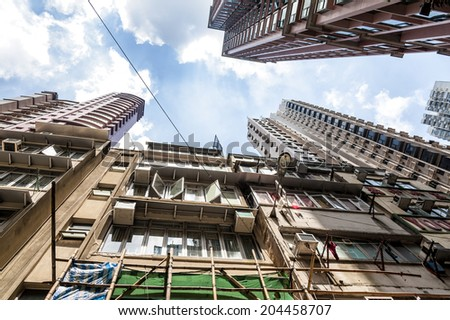 Condominium old style - stock photo